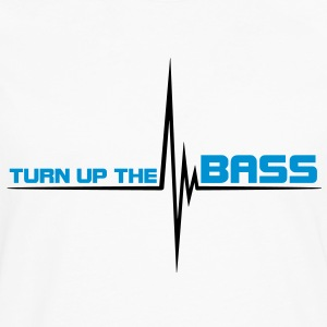 turn_up_the_bass T-skjorter - Premium langermet T-skjorte for menn
