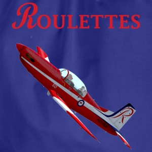 Roulettes PC-9 T-shirt - Drawstring Bag