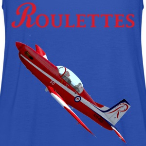 Roulettes PC-9 T-shirt - Women's Tank Top by Bella