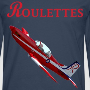 Roulettes PC-9 T-shirt - Men's Premium Longsleeve Shirt