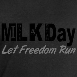 mlk_day_let_freedom_run Tee shirts - Sweat-shirt Homme Stanley & Stella