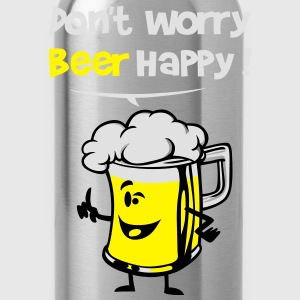 Beer happy ! - Water Bottle