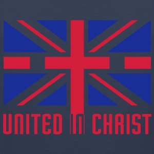 United In Christ T-Shirts - Men's Premium Tank Top