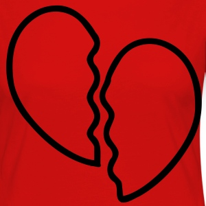 Heart Broken T-Shirts - Women's Premium Longsleeve Shirt