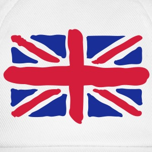 UK | GB | Union Jack | Art T-Shirts - Gorra béisbol
