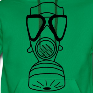 gas mask T-Shirts - Men's Premium Hoodie