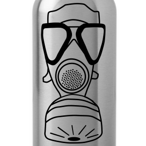 gas mask T-Shirts - Water Bottle