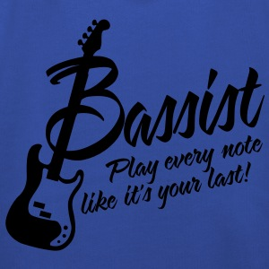 bassist play every note like its your last T-shirts - Kinderen trui Premium met capuchon