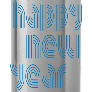 Happy New Year T-Shirts - Trinkflasche
