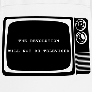 Revolution will not be televised - Kochschürze