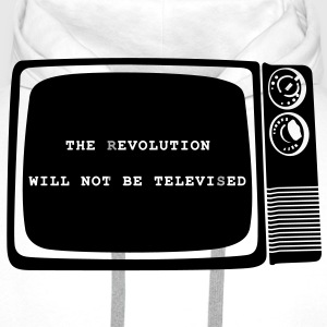 Revolution will not be televised - Sweat-shirt à capuche Premium pour hommes