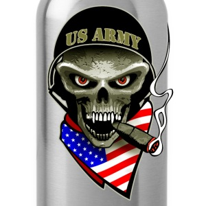 us army skull Tee shirts - Gourde
