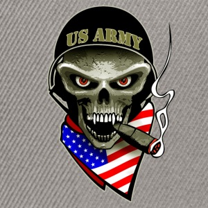us army skull Tee shirts - Casquette snapback