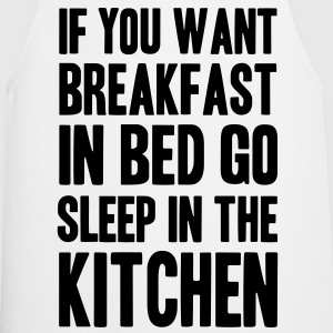 breakfast in bed T-Shirts - Cooking Apron