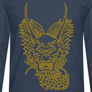 DRAGON OF WATER - T-shirt manches longues Premium Homme