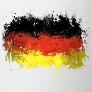 German Flag Graffiti - Women's - Mug