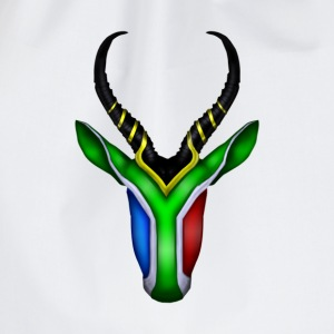 Springbok Flag - South Africa T-Shirts - Drawstring Bag
