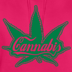cannabis  Tee shirts - Sweat-shirt à capuche unisexe