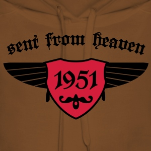 sent from heaven 1951 T-Shirts - Frauen Premium Hoodie