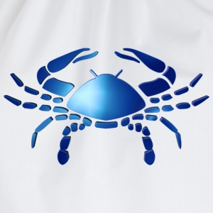 Zodiac Cancer The Crab 14 July – 21 July T-Shirts - Drawstring Bag