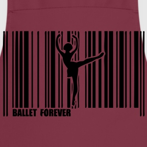 code barre danseuse ballet dancer1 Tee shirts - Tablier de cuisine