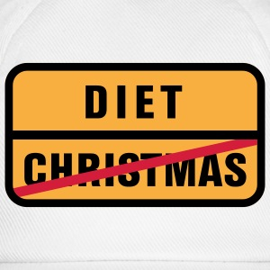 Christmas | Diet T-Shirts - Baseball Cap