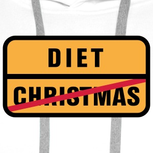 Christmas | Diet T-Shirts - Men's Premium Hoodie