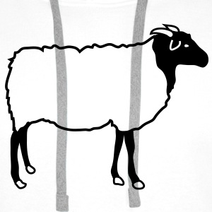 Sheep T-Shirts - Men's Premium Hoodie