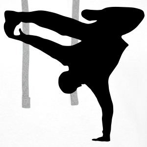 Breakdancer, B-Boy T-Shirts - Premium hettegenser for menn