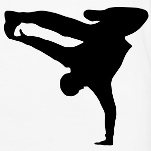 Breakdancer, B-Boy T-Shirts - Premium langermet T-skjorte for menn