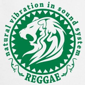 natural vibration in sound system reggae Tee shirts - Tablier de cuisine