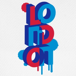 London in 3D letters T-Shirts - Baseball Cap