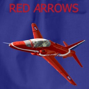 Red Arrows Hawk t-shirt - Drawstring Bag