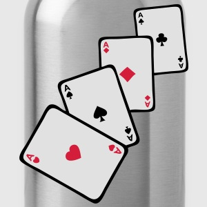 carte poker carre as1 Tee shirts - Gourde