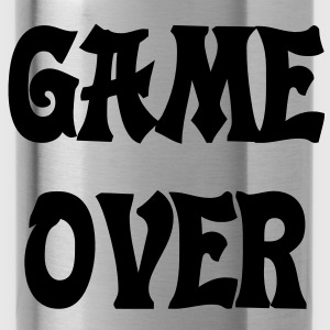 Game Over Tee shirts - Gourde