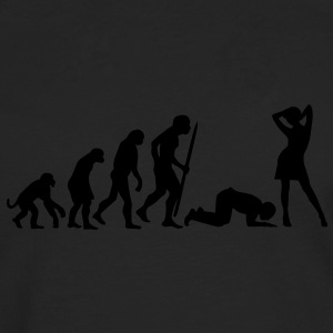 End of evolution T-shirts - Mannen Premium shirt met lange mouwen