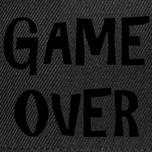 Game Over Tee shirts - Casquette snapback
