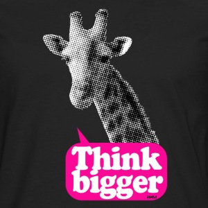 Think bigger - Girafe Tee shirts - T-shirt manches longues Premium Homme