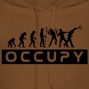 evolution_occupy T-skjorter - Premium hettegenser for kvinner