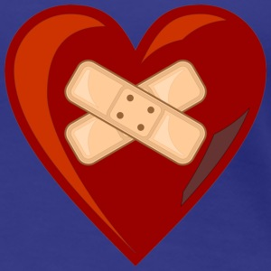 Herz-Girly - Frauen Premium T-Shirt