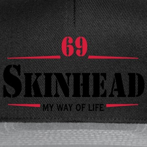 2 colors - Skinhead My Way of Life Skinheads Bootboys Rudeboys Skins Oi! T-shirts - Snapback Cap