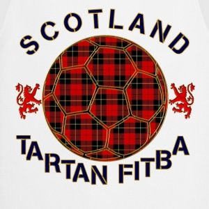 tartan football scotland red T-Shirts - Cooking Apron