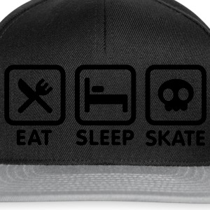 Eat Sleep Skate T-shirts - Snapback cap