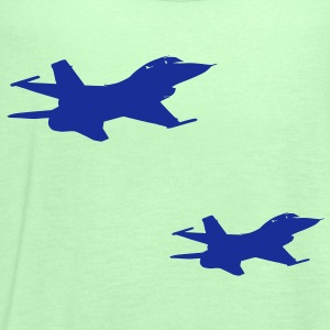 Pair of F-16's - Women's Tank Top by Bella