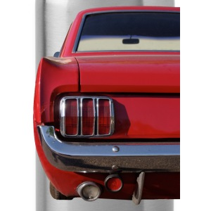 Sixties-Mustang back T-Shirts - Trinkflasche