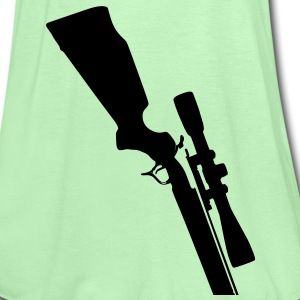 Sniper Rifle in your belt - Women's Tank Top by Bella