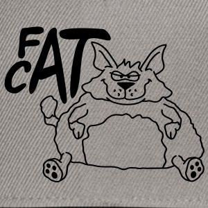 fat_cat T-Shirts - Snapback Cap