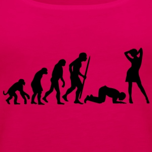 End of evolution T-Shirts - Frauen Premium Tank Top