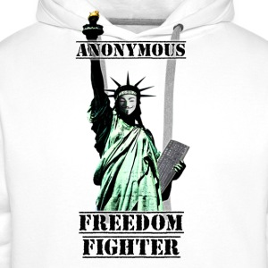 Statue Anonymous - Sweat-shirt à capuche Premium pour hommes
