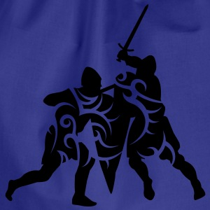 Sword fight tribal T-Shirts - Drawstring Bag